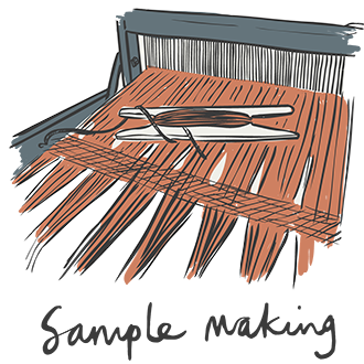 Skye Weavers, sample, mobile