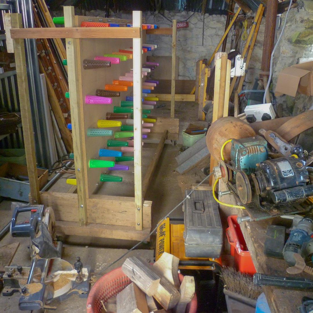 Skye Weavers workshop