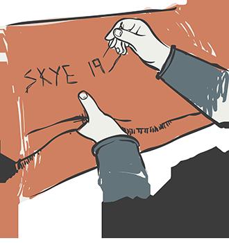 Skye Weavers, Mending