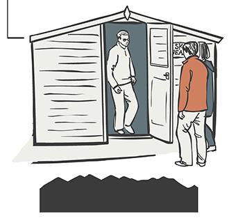 Skye Weavers, visitors, Mobile