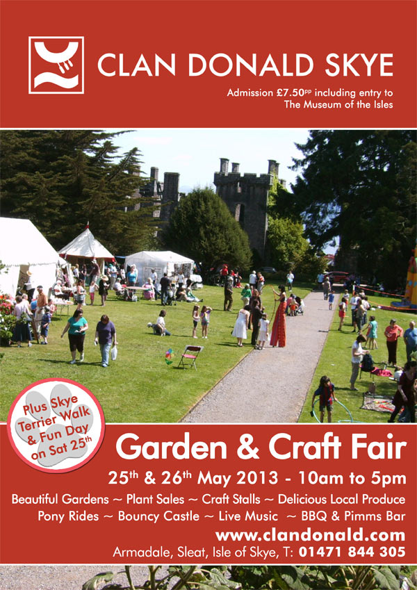 cland donald skye garden and craft fair