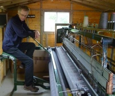 Roger weaving