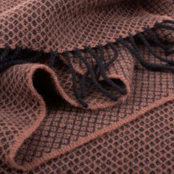 Orbost Scarf chocolate
