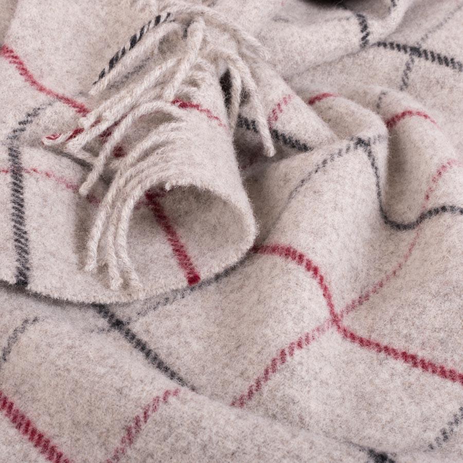 Tattersall Blanket Berry