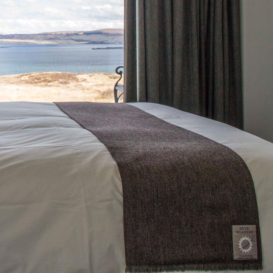skye weavers tweed bed runners skye luxury for your bedroom. Black Bedroom Furniture Sets. Home Design Ideas