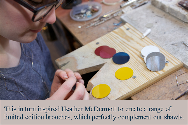 heather mcdermott making limited edition brooches