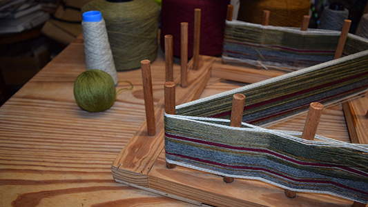 skye weavers sample warp