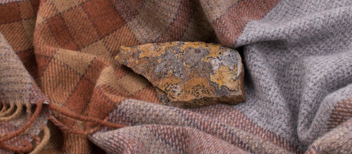 asymmetric lichen throws
