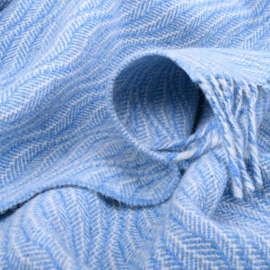 baby blanket blue sea