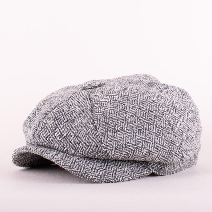 baker boy cap plaited twill pebble