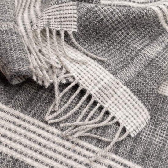 bauhaus scarf grey