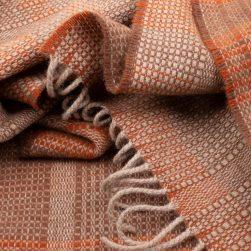 bauhaus scarf rust