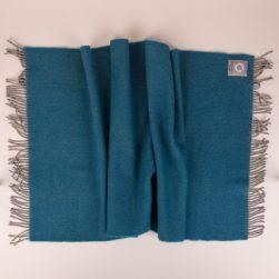 skye weavers bed runner double grey wool