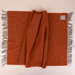 skye weavers bed runner king burnt orange