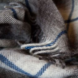 blue hyla throw