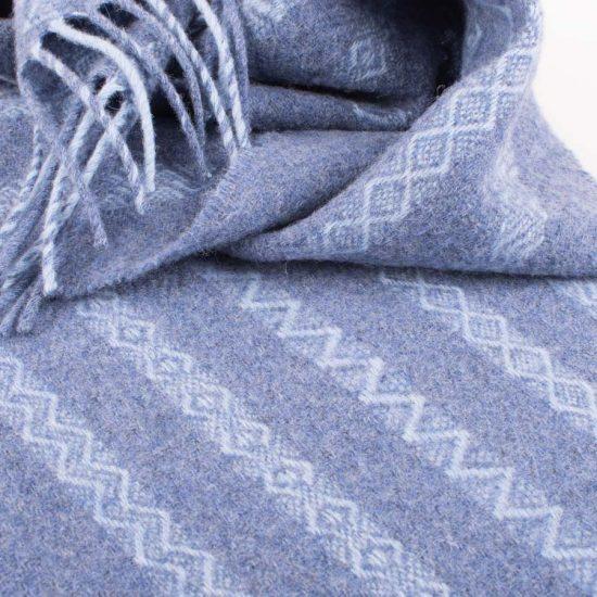 brodgar scarf blue