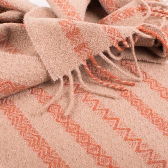 Brodgar scarf ochre