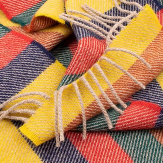 children's scarf multicolour stripes