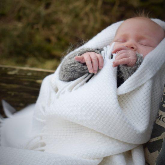 skye weavers christening blanket