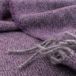 diamond scarf lilac