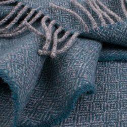 diamond scarf turquoise