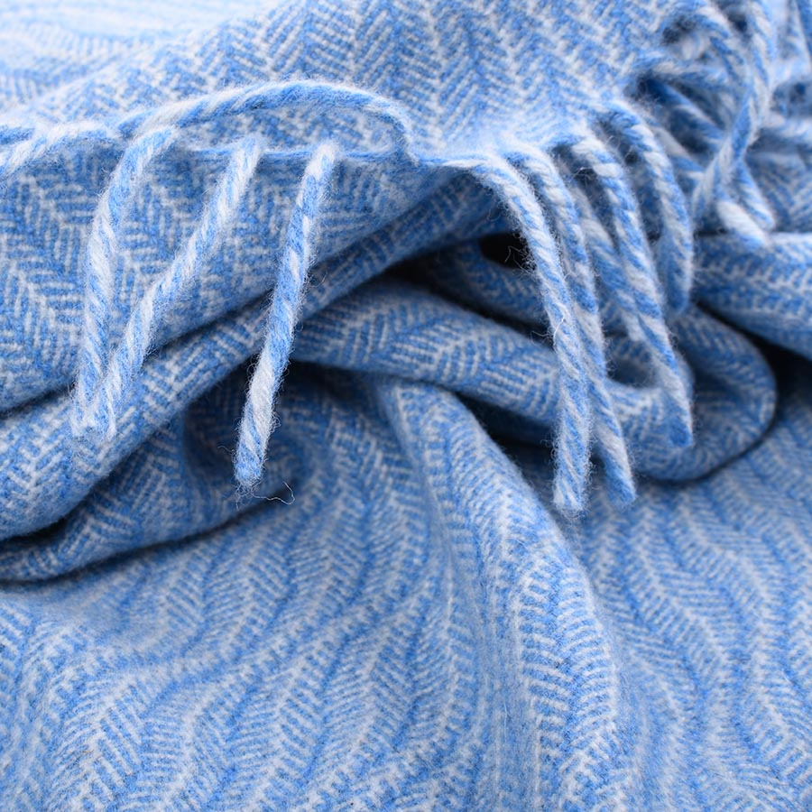 ebb tide shawl blue