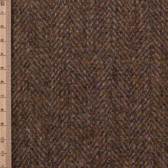 Skye Weavers Ember Herringbone Tweed