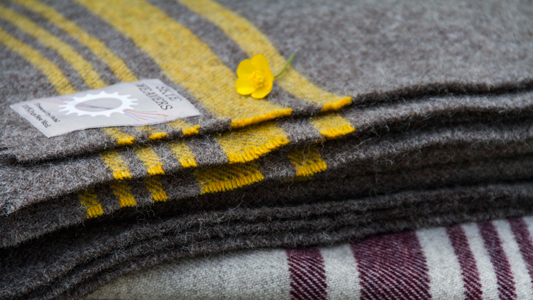 Skye Weavers Woollen Throws
