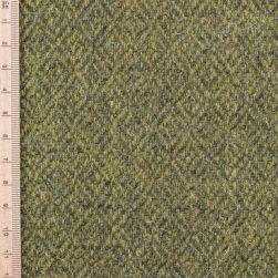 Skye Weavers Green Diamond Tweed
