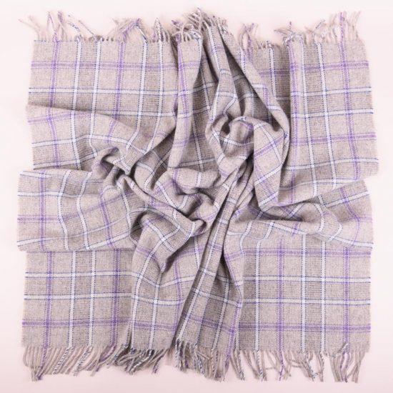 heather mist knee rug