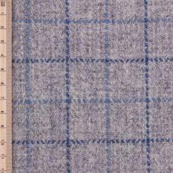 Skye Weavers Indigo Tattersall Tweed