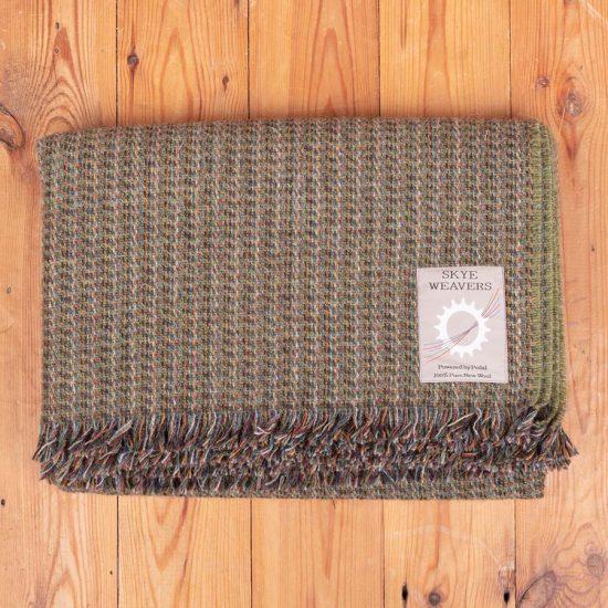 knee rug grey-green