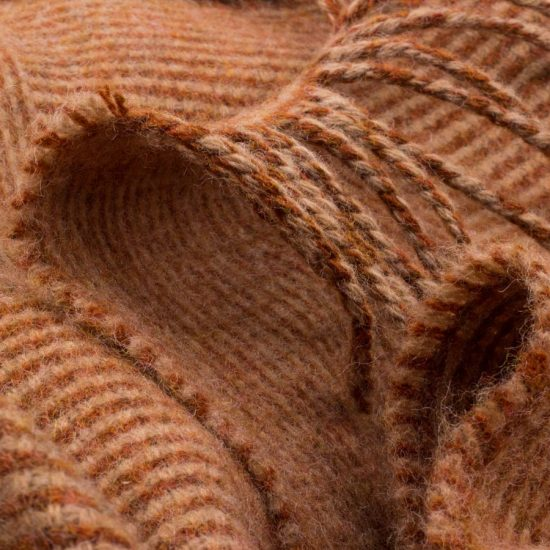Skye Weavers Log Cabin Throw, Winter Beech