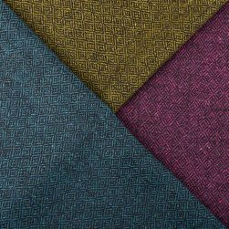 midnight diamond cushion tweeds close up