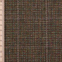 Skye Weavers Moss Check Tweed