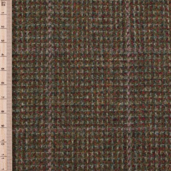 Skye Weavers Moss Check Tweed