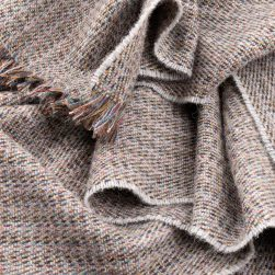 motley moss throw light grey