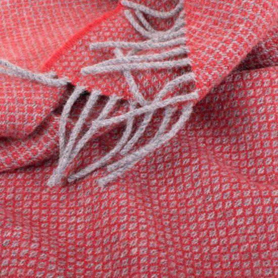 orbost scarf raspberry