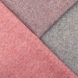plaited twill cushion tweeds close up