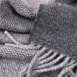 scarf grey and charcoal