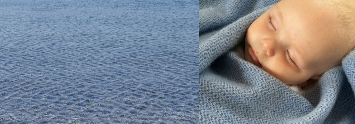 sea ripples baby blanket inspiration