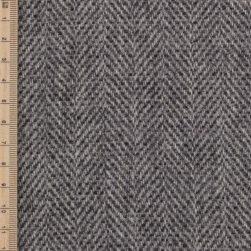 Skye Weavers Silver Birch Herringbone Tweed