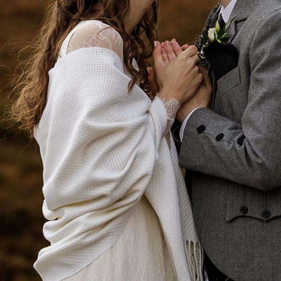 skye wedding shawl