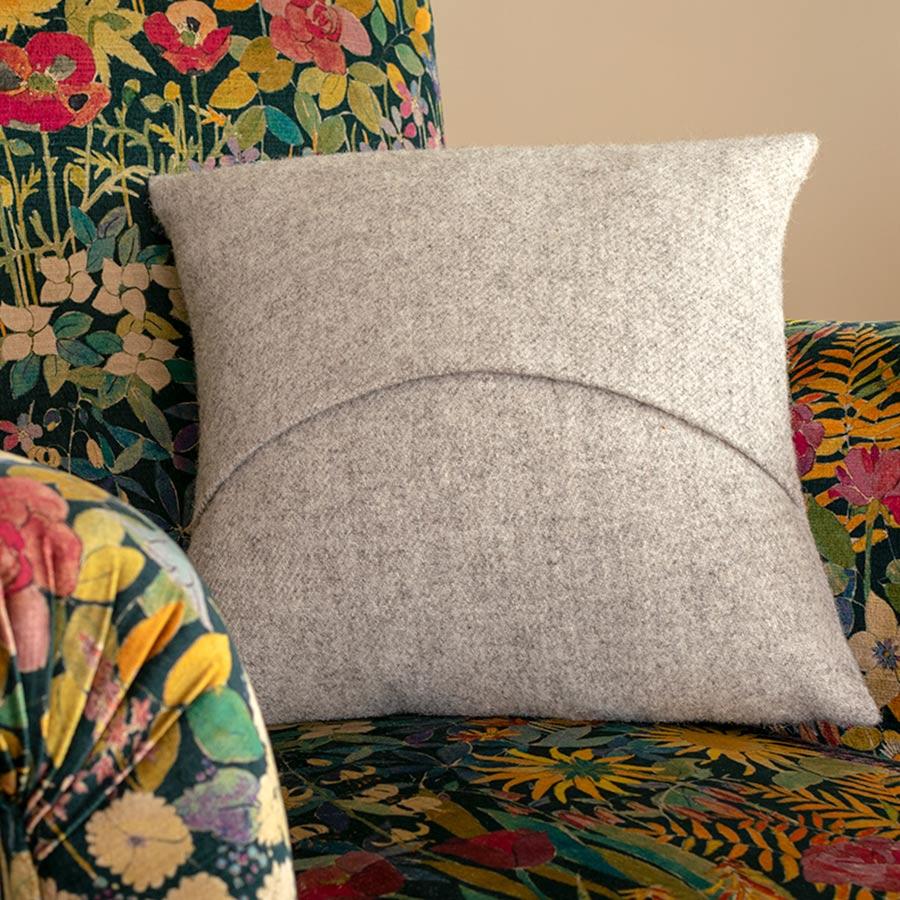 skye wool cushion