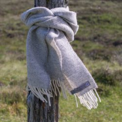 skye wool diamond scarf