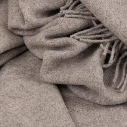 skye wool throw grey