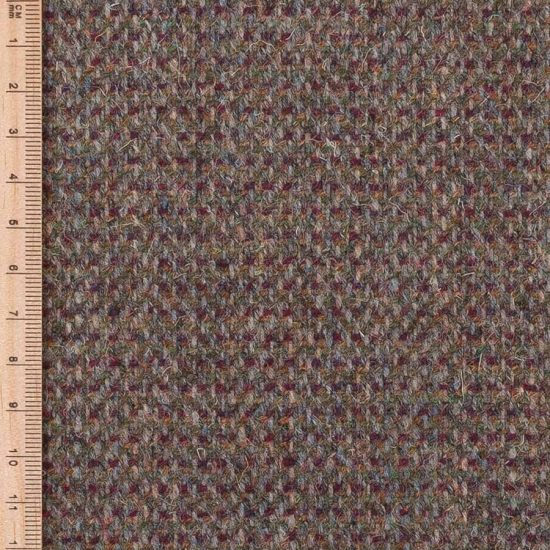 close up of tweed cloth