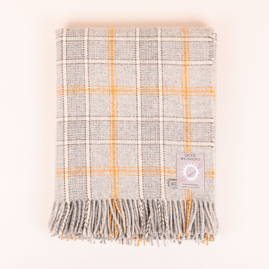 tartan throw xanthoria