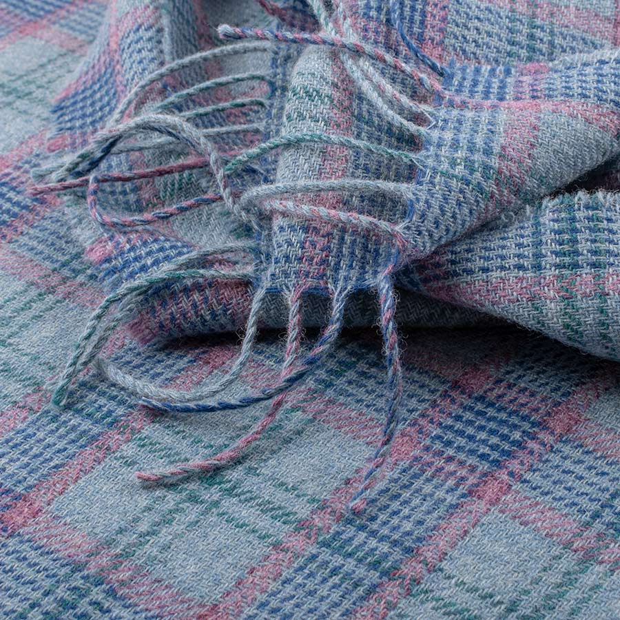 tartan wrap heather coast