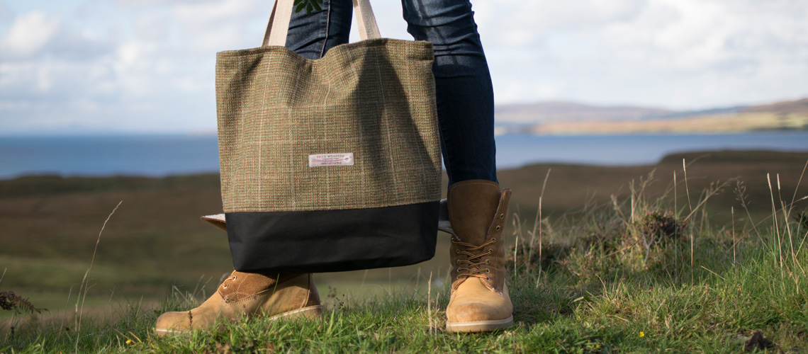 tweed shopper